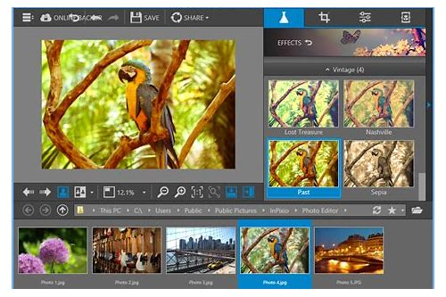 desktop photo editing software free download