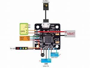 Mini F3 Flight Controller W  Bec And Osd