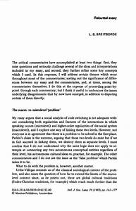 rebuttal essay sample