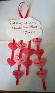 john wrote  love bible craft childrens bible