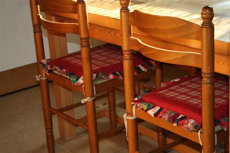 galettes de chaises déhoussables galettes de chaises couture au fil d 39 eau d 39 ile