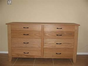 Craftsman Style Eight Drawer Dresser
