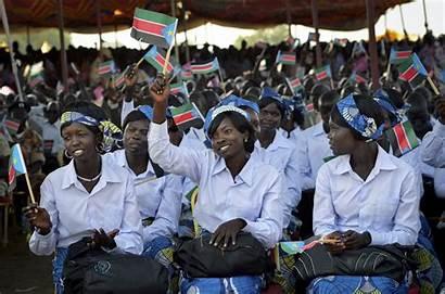 Sudan South Guns Anniversary Sudanese 1st Promise