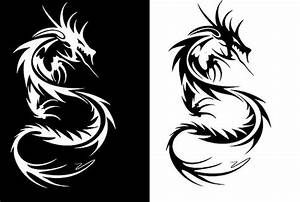 black and white dragon tattoos | Flickr - Photo Sharing ...
