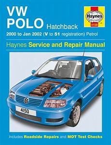 Haynes Manual Vw Polo Hatchback Petrol  2000