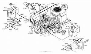 Dixon Ztr 5421  1995  Parts Diagram For Fuel  Hydraulics