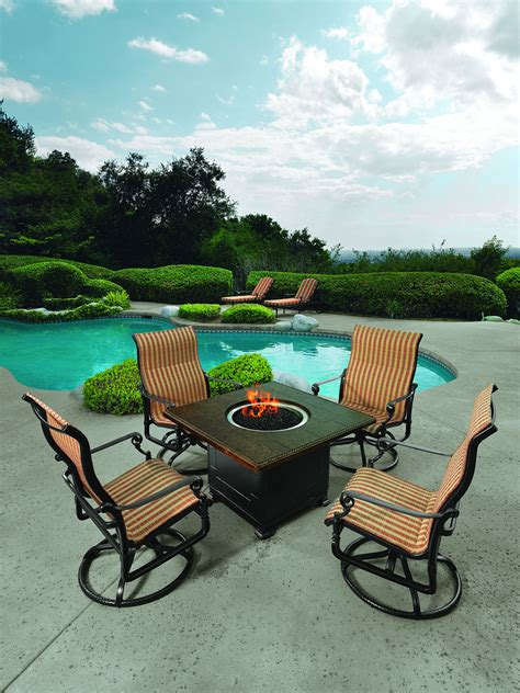 grand terrace sling chaise lounge ultra modern pool patio
