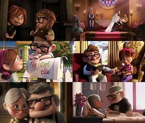 Up Movie Ellie And Carl Quotes 1) carl and ellie in up