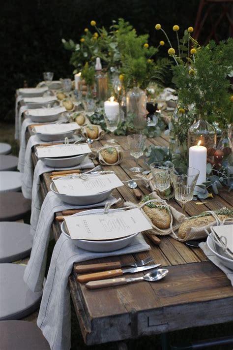22 Idee per apparecchiare la tavola all'aperto   Casa.it