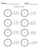 drawing time printable worksheets