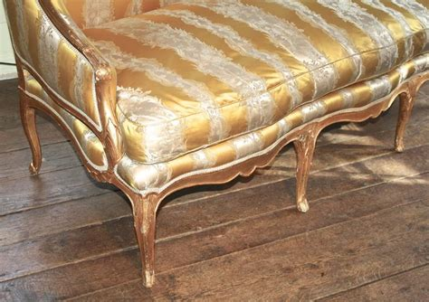 canapé salé louis xv giltwood canape a oreilles for sale at 1stdibs