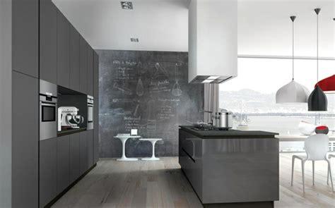 cuisines haut de gamme idée déco cuisine grise pour une ambiance harmonieuse