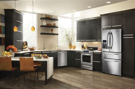 Counter Depth Refrigerator In Kitchen wwwpixsharkcom