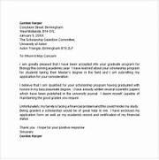 Application Letter 9 Free Doc Download Scholarship Application Essay Scholarship Application Letters 8 Sample Example Application Letters