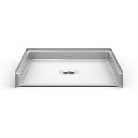 "Barrier Free 36"" X 36"" Shower Pan  Traditional Threshold"