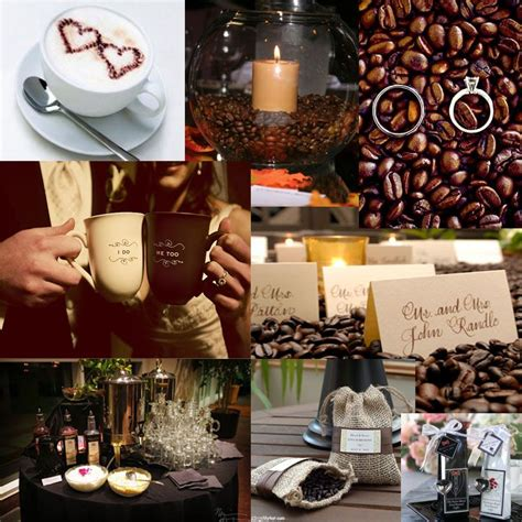 1000+ Images About Coffeethemed Wedding Ideas On