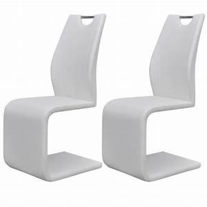 Küchen Und Esszimmerstühle : 2x esszimmerstuhl design freischwinger schwingstuhl ~ Watch28wear.com Haus und Dekorationen