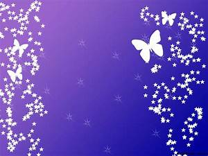 Purple Background with Butterflies – Free PPT Backgrounds