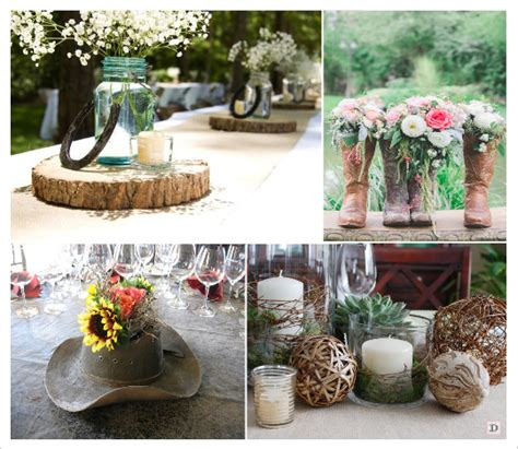 decoration table ronde mariage country chic wedding western theme wedding and decoration