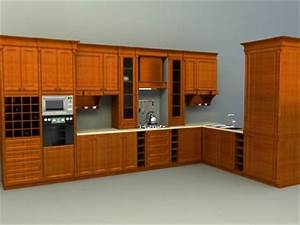 kitchen accessories 3d models download collection With kitchen furniture 3d free