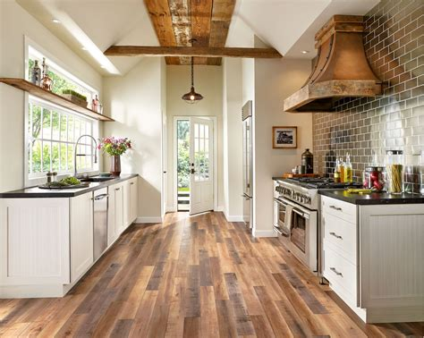 pros cons  types  kitchen flooring materials blog