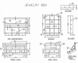 Handmade Wooden Jewelry Box - Woodworking Plans at Lee's
