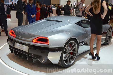 Rimac Conceptone Rear Three Quarter Right Indian Autos Blog