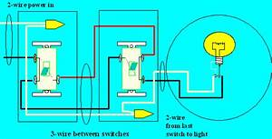 How To Wire Two Switches To One Light