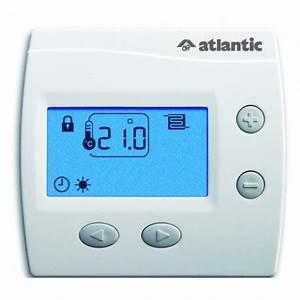 Plancher Rayonnant Electrique : thermostat pour plancher rayonnant lectrique atlantic ~ Premium-room.com Idées de Décoration