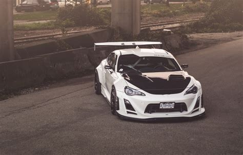wallpaper toyota white tuning gt  images  desktop section toyota