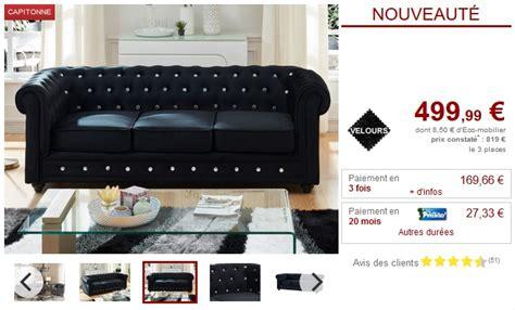 canap et fauteuil pas cher canapé et fauteuil velours 9 coloris chesterfield pas cher