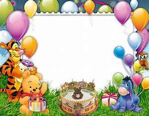 Cartoon Bbirthday Frame png HD image free download