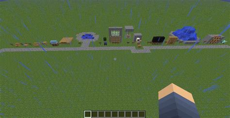 Garden Decoration Minecraft by Inside Outside Decorations Minecraft Project