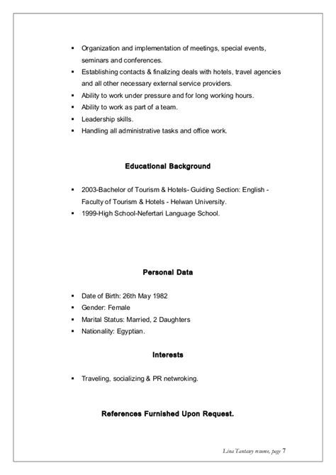 Are References Necessary On A Resume by Lina Tantawy Resume New