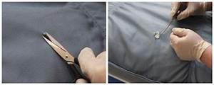 comment reparer une dechirure ou un trou dans le cuir With comment réparer un accroc sur un canapé en cuir