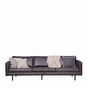 canape 35 places en cuir bronco par drawerfr With tapis de marche avec canapé en cuir 4 places