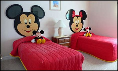 cheap bedroom decorating ideas mickey  minnie mouse