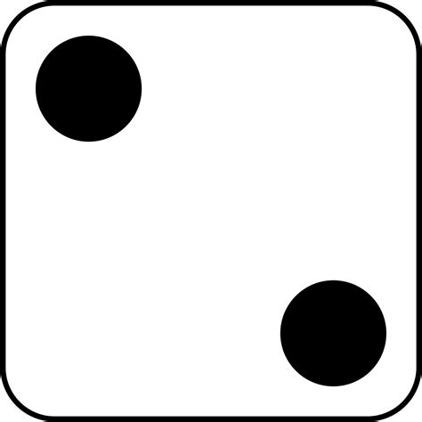 Black Picture 2 by Free Photo 2 Dice Number Random Spots Free