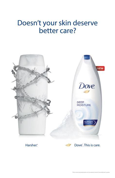 dove soap advertisement poster