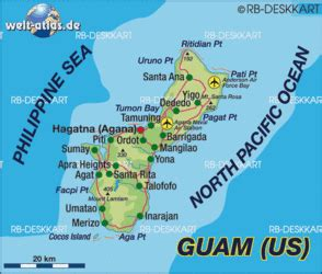 map  guam usa map   atlas   world world