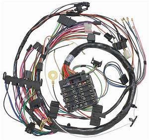 Wiring Harness  Dash  1972 Chevelle  El Camino  Monte  Sweep