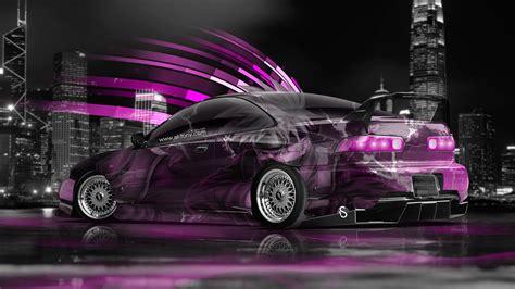 honda integra jdm anime aerography city car  el tony