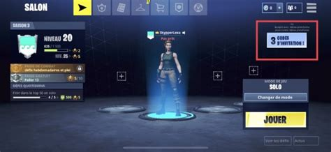 fortnite mobile inviter des amis code dinvitation