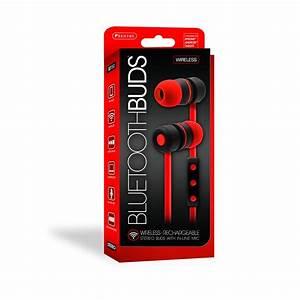 BT150 Red Bluetooth Ear Buds