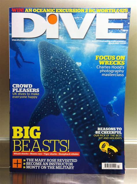 Dive Magazine Whale Shark Cover Dive Magazine Uk Eric Cheng