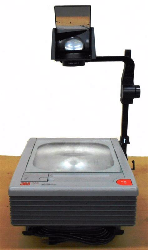 3m 9200 portable overhead projector model 9000ajc 120v 4