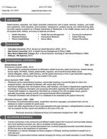 resume health objective excellent health care resume objective and builder