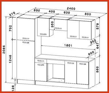 dimension meuble cuisine idee de modele de cuisine