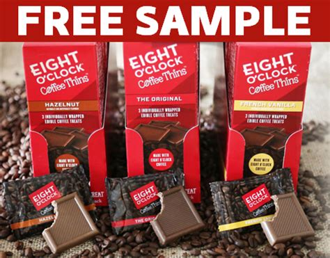 FREE 3 Pack Of Eight O? Clock Coffee Thins ? SwagGrabber