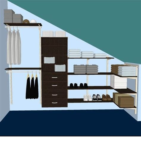 Storables Closet by Best 25 Sloped Ceiling Ideas On